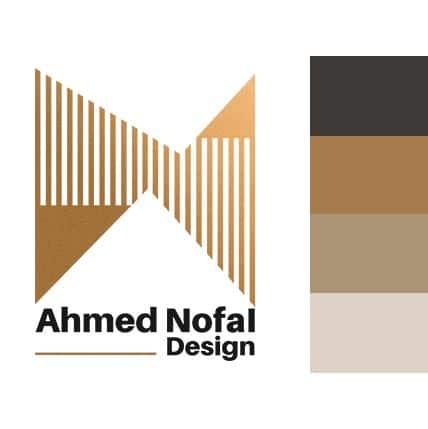ahmed nofal logo colors